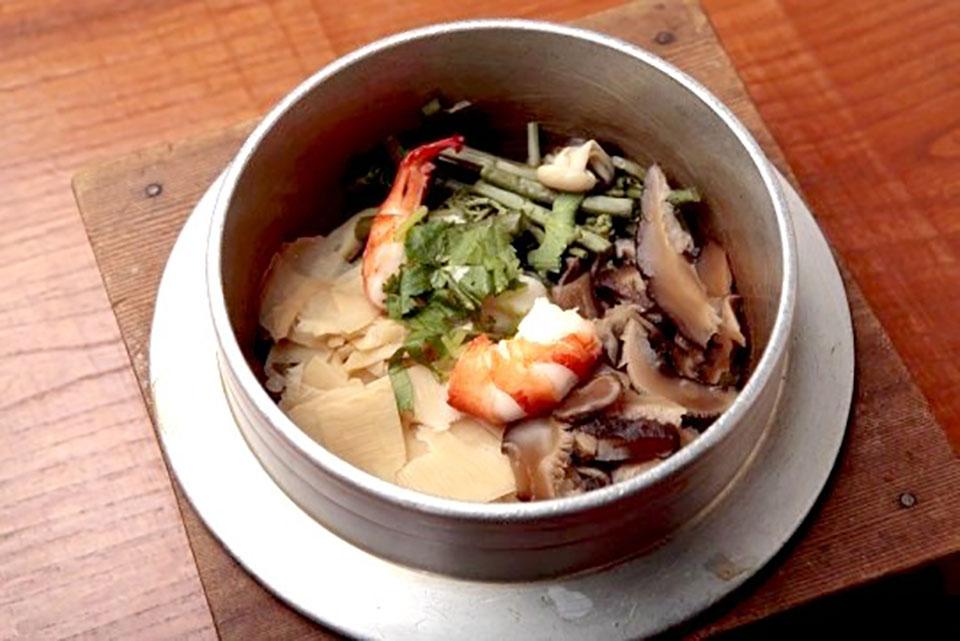 5 Ingredient Kamameshi