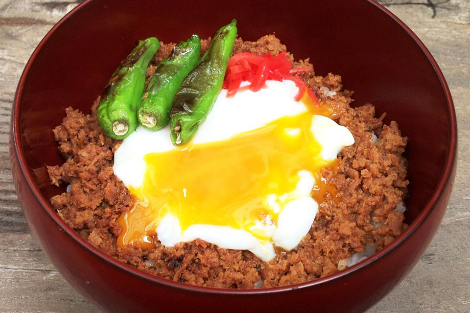 Miced Meat and Egg Bowl